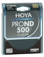 Genuine Hoya 49mm Pro ND500 Filter. Multi-Coated Glass. 9 Stop Neutral Density