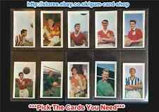 DICKSON ORDE FOOTBALLERS 1960 (VG) ***PICK THE CARDS YOU NEED***