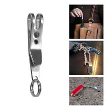 Mini EDC Gear Pocket Suspension Clip Hanger Tool Key Ring Keychain Keyfob 4g