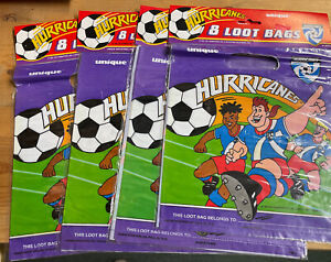 32 Count soccer party favor bags loot bags birthday party decorations