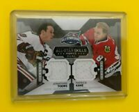 Jonathan Toews Patrick Kane - 2015-16 SP Game USed  jersey All-Star Blackhawks