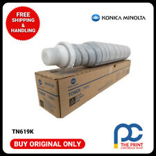 New & Original Konica Minolta TN619K Black Toner Cartridge