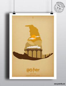 PHILOSOPHERS STONE - Minimalist Movie Poster Posteritty Minimal Harry Potter Art