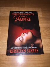 Kerrelyn Sparks ~ Forbidden Nights With A Vampire ~ Hardcover HC HB ~ Hardback