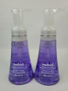 Method French Lavender Foaming Hand Wash 2 Pack, 10 fl oz Pump, NEW