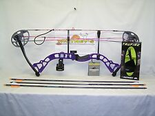 "Diamond by Bowtech - Prism Purple Package-  Right Hand 5-55# 18-30"" Draw"