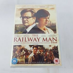 THE RAILWAY MAN Region 2 DVD 2013 UK PAL Colin Firth, Nicole Kidman 112 Minutes