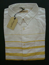 BNWT LEVI'S MADE AND CRAFTED Button Shirt - Size 4 (XL) - RRP £130 - Super - LVC