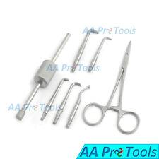 AA Pro: Oral Dental Morrel Crown Bridges Removal Kit with Holding Forcep Dentist