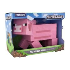 Minecraft Pig Money Bank Licensed Collectable Gaming Merchandise