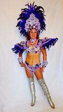 BRAZILIAN PURPLE#1 SHOW GIRL  carnival SAMBA  COSTUME bikini/CUSTOM MADE