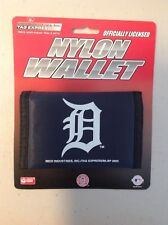 NEW DETROIT TIGERS NYLON TRIFOLD WALLET BILLFOLD MLB LICENSED
