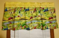 The Little Engine That Could! Rare Print! Trains Animals New Curtain Valance