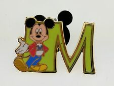 Disney JDS Walt Disney 100th Year Mickey Mouse #2 M For Mickey Pin 5194 Japan