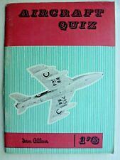 Ian Allan Aircraft Quiz 1960