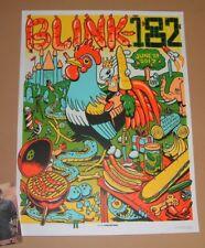 Munk One Blink 182 Berlin Deutschland Poster Print Kunst signiert nummeriert AP