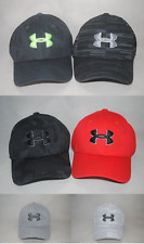 Under Armour Boys' UA Printed Blitzing Cap #1273710 Curved Bill Stretch Fit Hat