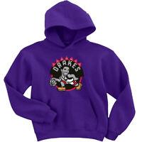 "Drake Toronto Raptors Kawhi Leonard ""Drakes Logo"" HOODED SWEATSHIRT"