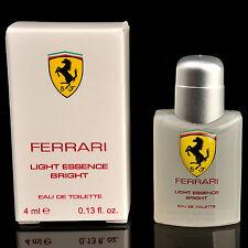 Scuderia Ferrari Light Essence Bright EDT 4ml 0.13oz Cologne for Men Perfume NIB