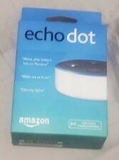 Amazon Echo Dot 2nd Generation WHITE Alexa Device NEW FACTORY SEALED