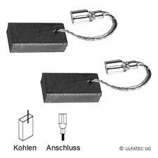 Charbon balais pour Bosch pam 500, pkf 25, pof500a, pof500ea-pas cher (2052)