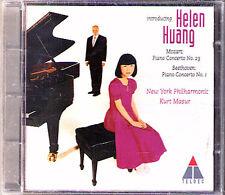 Helen HUANG & Kurt MASUR: BEETHOVEN Piano Concerto 1 MOZART 23 CD