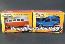Planet Toys Disney Herbie Fully Loaded Pull Back Car VW Bus and Golf Volkswagen
