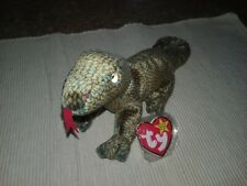 """Ty Beanie Baby 1999 """" Scaly """" The Lizard (Mint With Mint Tags) Retired"""