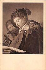 BF38837 children playing violin hals fec kassel  painting  art postcard