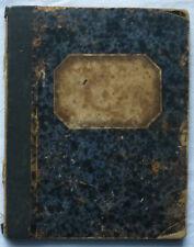 HANDSCHRIFTLICHES KOCHBUCH 447 Rezepte 8 Seiten Alphabetischer Anhang vor 1918