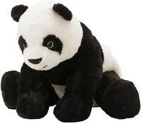 Ikea KRAMIG Panda Soft Toy, Black/White