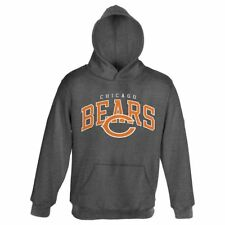 New Youth Boys NFL Chicago Bears Black Pullover Hooded Sweatshirt Hoodie Jumper