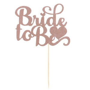Bride To Be Cake Toppers Team Bride Cake Decor for Bridal Shower Wedding P  FH