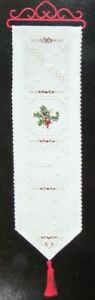 6x Hardanger Pattern  Noel/Close To My Heart/Elegance/Fleur de Lis/Fob-JK44