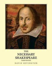 The Necessary Shakespeare by David Bevington (2008, Paperback)