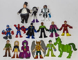 HUGE Lot of Imaginext Batman Toys Figures DC Superheroes & Villains
