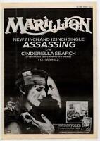 Marillion UK 45' advert 1984