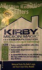 2ct F CLOTH Sentria Hepa Micron Magic Kirby Vacuum Bags NEW OEM SEALED PRODUCT