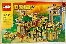 SEALED 5887 LEGO DINO DEFENSE HQ Jurassic T-Rex Raptor Dinosaur 793 pcs RETIRED