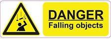 Peligro-la caída de objetos - 300x100mm | salud y seguridad | signs/stickers