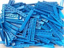 Marca Nueva 20 Lego 1 X 8 Azul Azulejos número 4162 Add on acabado Touche 1x8 Azulejo