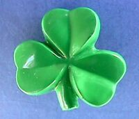 Hallmark PIN St Patrick Vintage SHAMROCK LUCKY Clover Irish Holiday Brooch