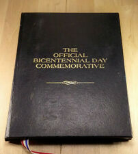1976 OFFICIAL BI CENTENNIAL PROOF SILVER COMMEMORATIVE ORIGINAL HOLDER      BCS