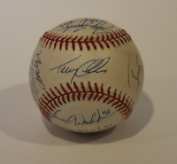 1999 Anaheim Angels team signed autographed baseball! Guaranteed Authentic!