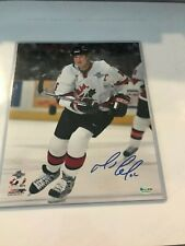 Mario Lemieux Signed Pittsburgh Penguins (TEAM CANADA)  8x10 Reich PM Hologram