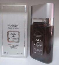 Santos de Cartier By Cartier 6.6 Fl oz Hair and Body Shampoo For Men VINTAGE