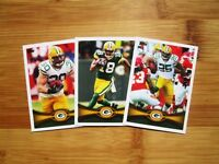 2012 Topps Green Bay Packers TEAM SET Aaron Rodgers