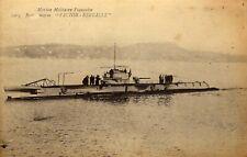 """cpa - Marine Militaire Française - sous marin """"Victor-Réveillé"""""""