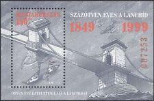 Hungary 1999 Chain Bridge/Bridges//Paddle-steamer/Boats/Transport 1v m/s  n45185