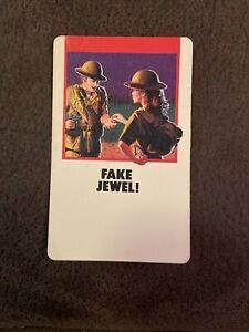 Fireball Island Board Game Replacement Card Piece Fake Jewel MB Vintage 1986